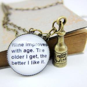 Folly funny interesting quote wine ..