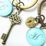 Personalized Initial Letters Key Lo..